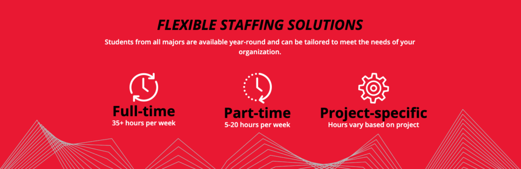 icons for flexible staffing solutions